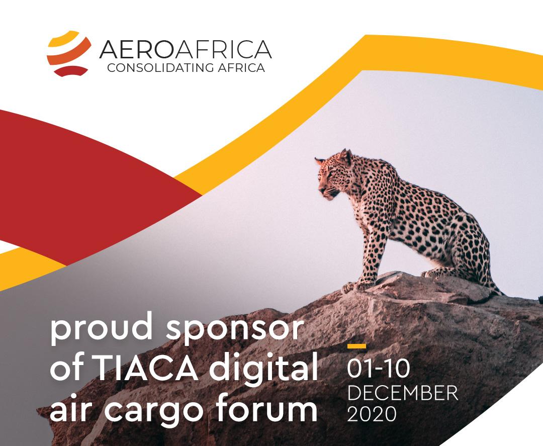 Aero Africa is a proud sponsor of TIACA digital air cargo forum