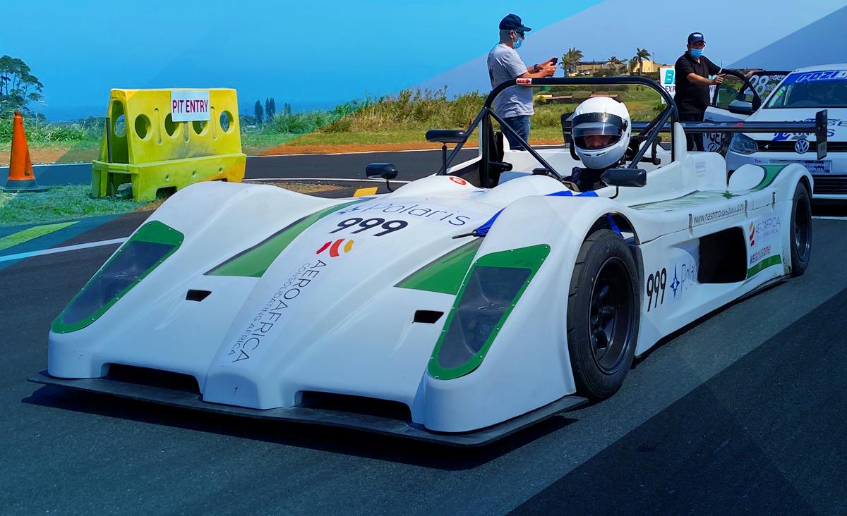 Team Aero-Africa car race